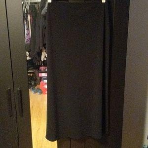 Worthington Knits Black Maxi Skirt